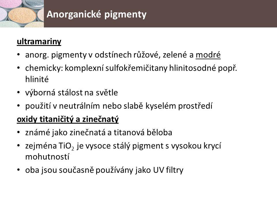 ultramariny anorg.