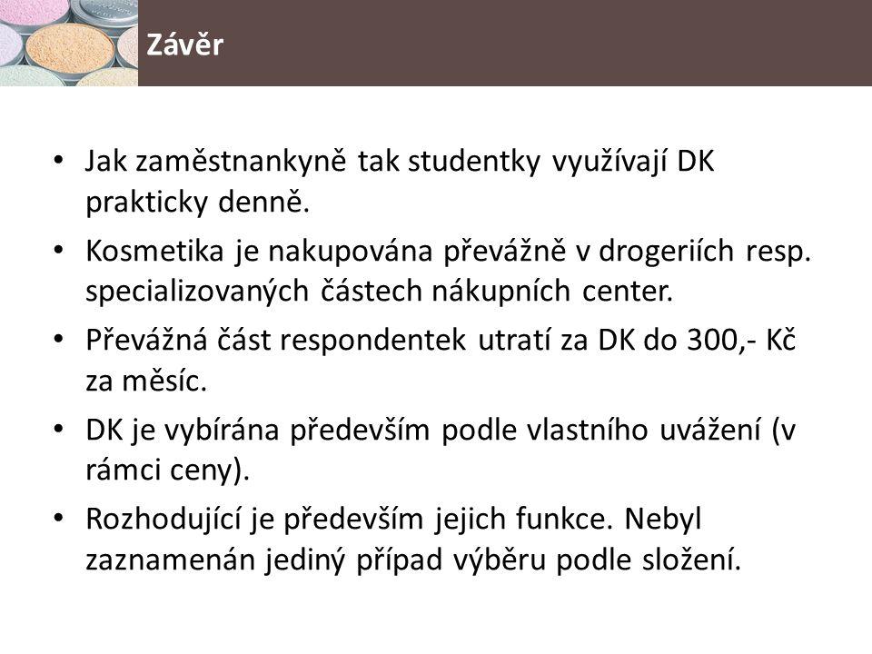 Jak zaměstnankyně tak studentky využívají DK prakticky denně.