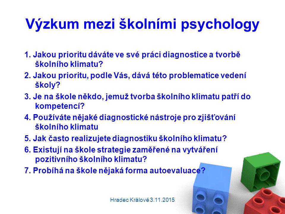 Výzkum mezi školními psychology 1.