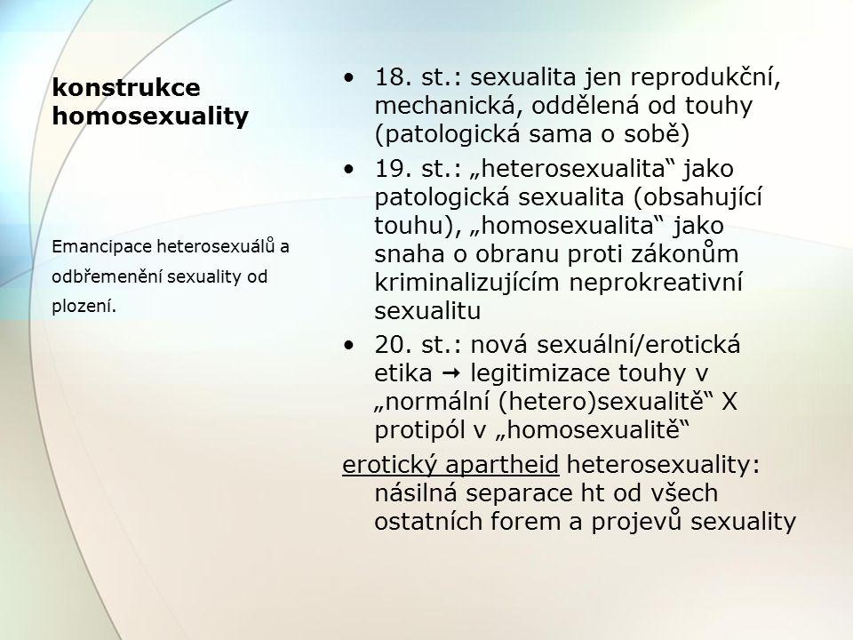 """Lidská sexualita a identita (biologické - úřední) pohlaví vnitřní genderová identita gender (a """"společenská genderová role ) sexuální orientace sexuální chování mapa lásky"""
