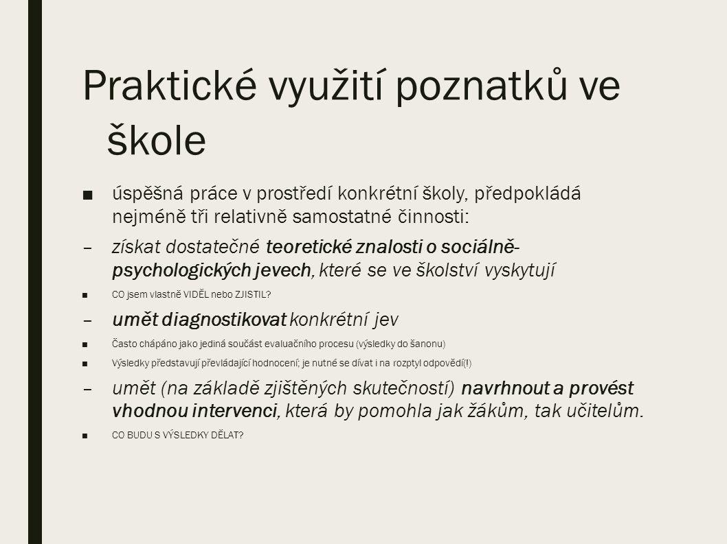 Dotazníky (třída) – příklad (CES) standardizován v IPPP pro českou populaci; normy z konce 90.