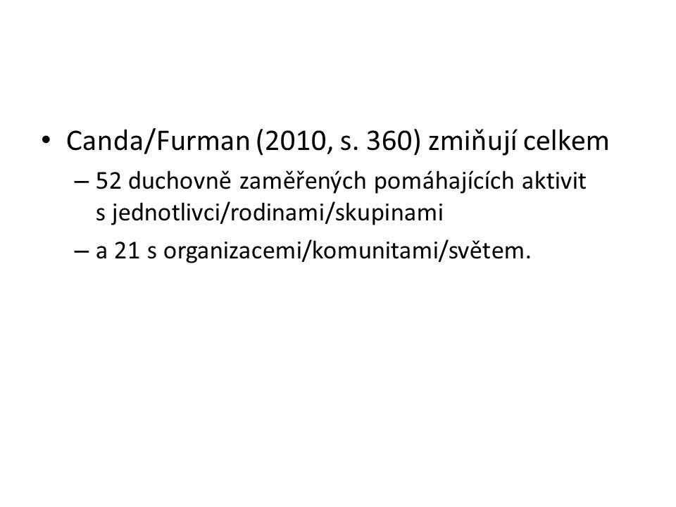 Canda/Furman (2010, s.