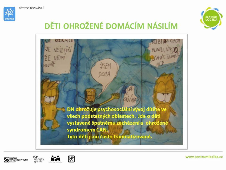 VĚK DĚTÍ PŘI PŘÍCHODU DO AZYLOVÉHO DOMU ACORUS Zdroj: První výsledky výzkumu Děti a domácí násilí PhDr.
