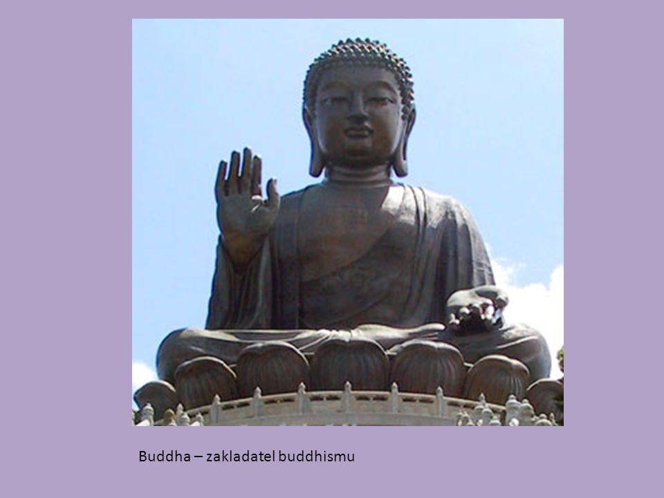 Buddha – zakladatel buddhismu