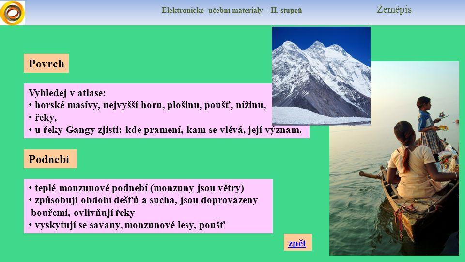 Elektronické učební materiály - II.stupeň Zeměpis Zjisti počet obyvatel, je 2.