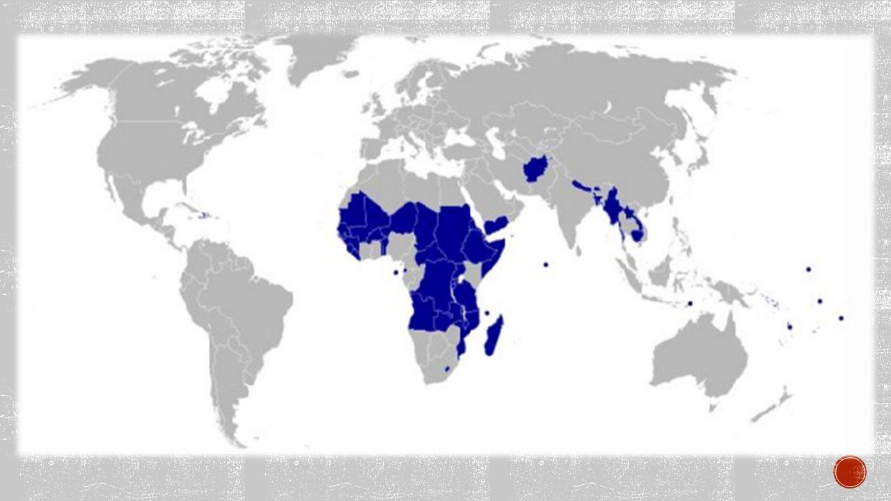 ČTVRTÝ SVĚT = třetí svět neustále se zvyšuje počet obyvatel problémy s potravinami – podvýživa velké rozdíly mezi venkovem a rozvinutým městem levné pracovní síly – nedostatek peněz Mongolsko, Laos, Indie, Pákistán, Nigérie