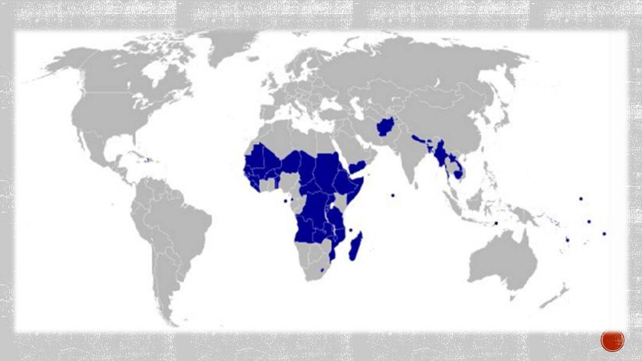 PÁTÝ SVĚT = třetí svět nejchudší země světa země střední a východní Afriky, Afghánistán, Bangladéš, Nepál, Bhútán