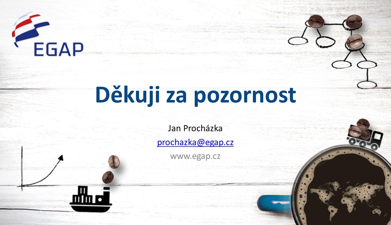 Děkuji za pozornost Jan Procházka prochazka@egap.cz www.egap.cz