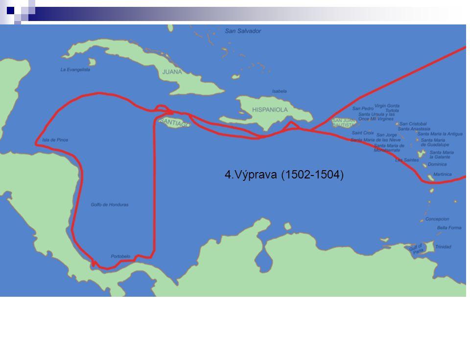 4.Výprava (1502-1504)
