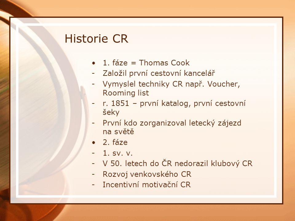 Historie CR Typické rysy CR v Československu v letech 1948 – 1989 -Základem cestovního ruchu byl domácí CR -Po celé období administrativně politické zásahy státu do oblasti CR -V 50.