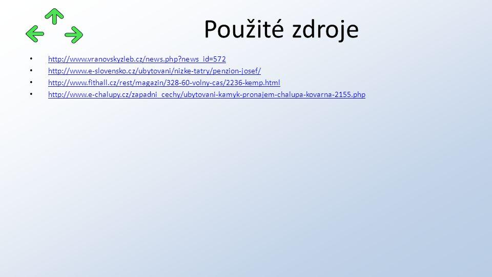 http://www.vranovskyzleb.cz/news.php?news_id=572 http://www.e-slovensko.cz/ubytovani/nizke-tatry/penzion-josef/ http://www.fithall.cz/rest/magazin/328