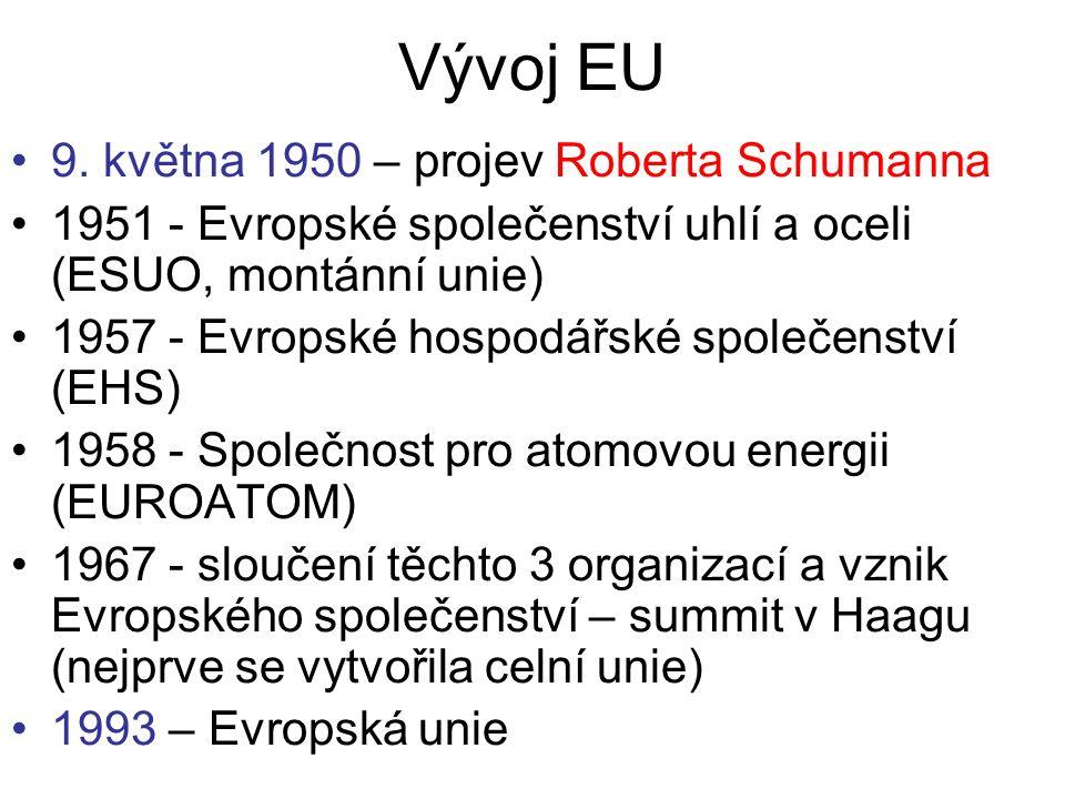 Vývoj EU 9.