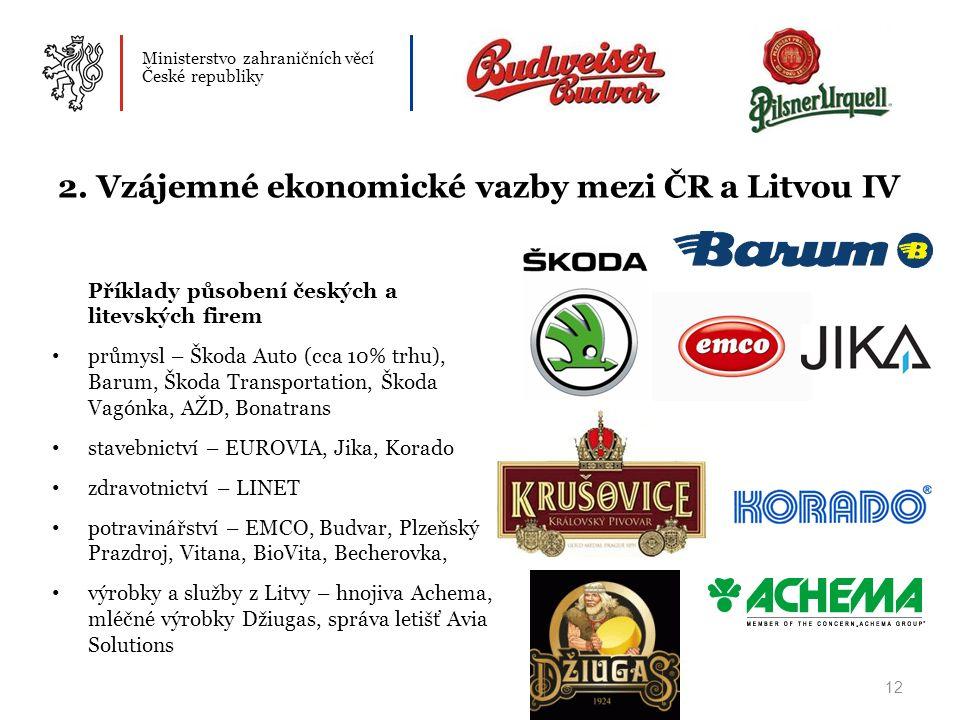 Ministerstvo zahraničních věcí České republiky 12 2.