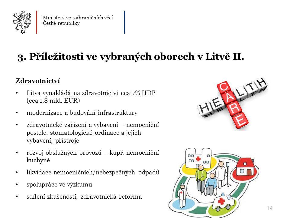 Ministerstvo zahraničních věcí České republiky 14 3.