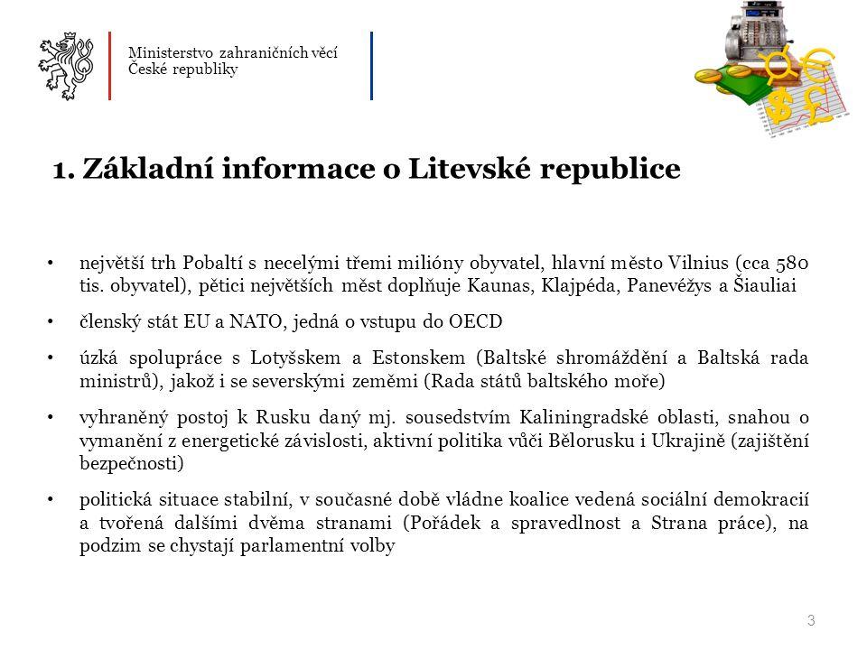 Ministerstvo zahraničních věcí České republiky 3 1.