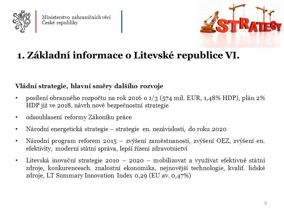 Ministerstvo zahraničních věcí České republiky 8 1.