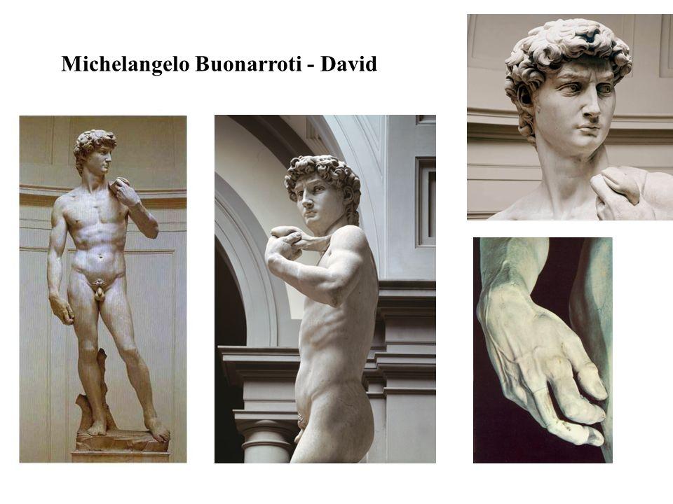 Michelangelo Buonarroti - David