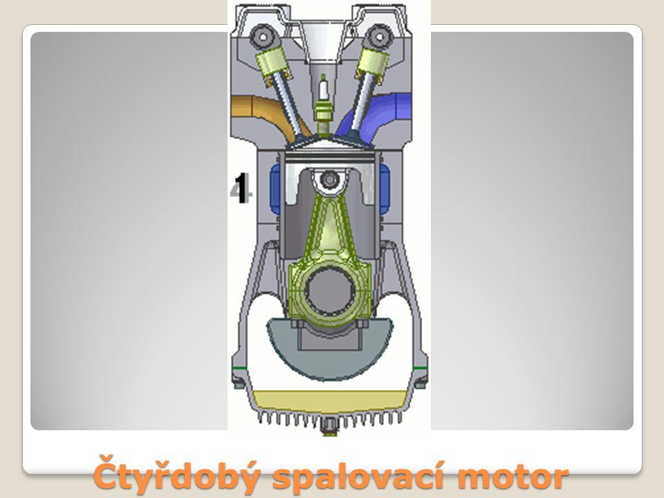 Čtyřdobý spalovací motor