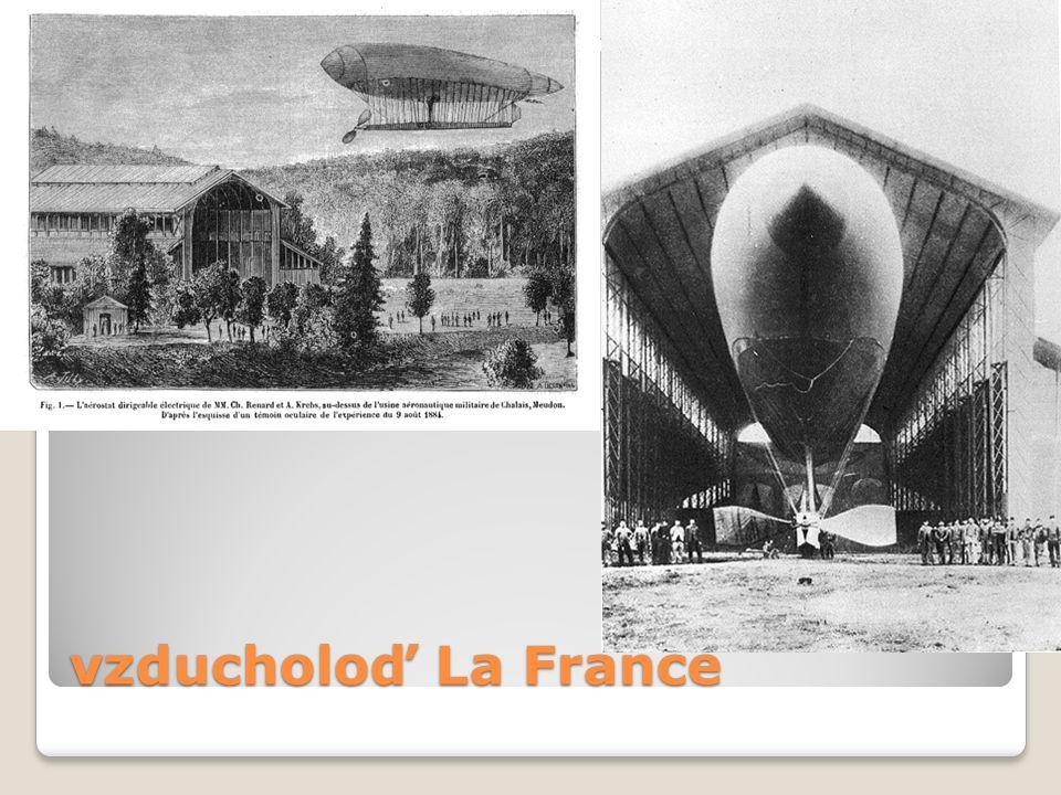 vzducholoď La France