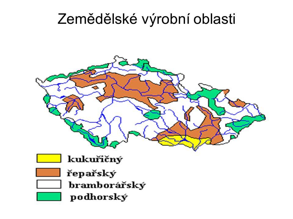 Zemědělské výrobní oblasti