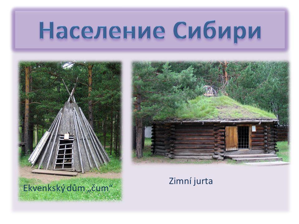 "Ekvenkský dům ""čum"" Zimní jurta"