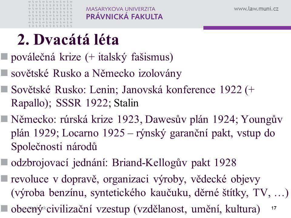 www.law.muni.cz Vojáček17 2.