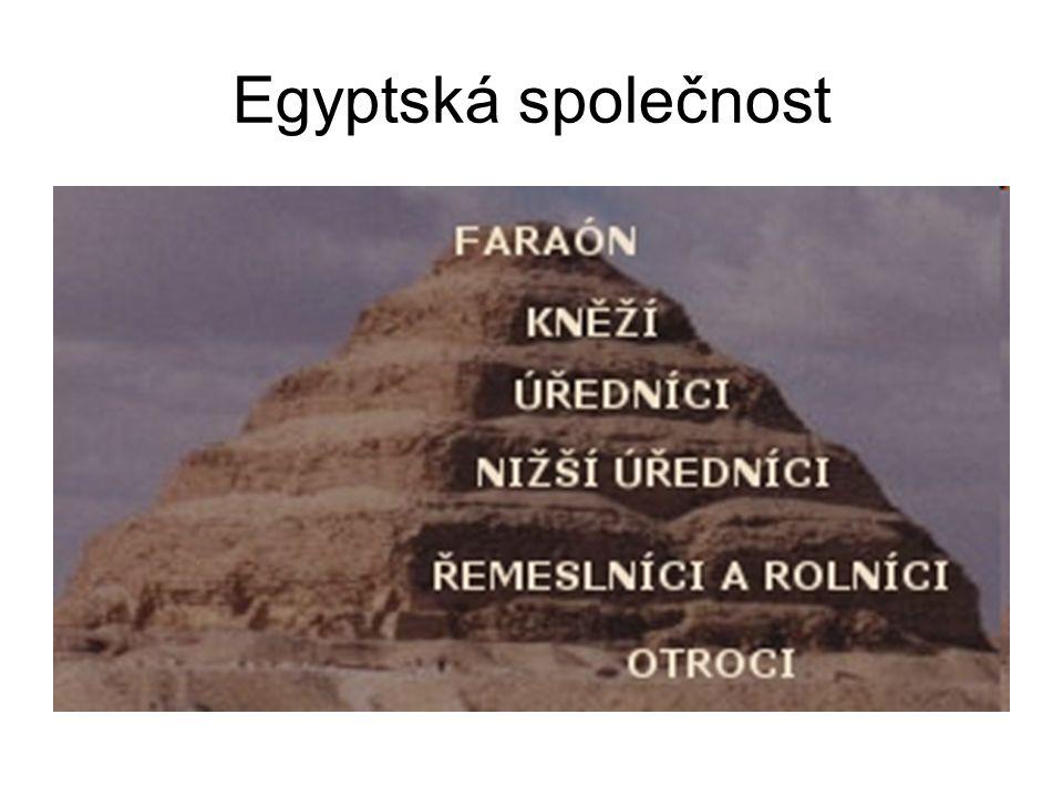 Egyptská společnost www.dejepis.com/index. php?page=000&kap=003&pod=3