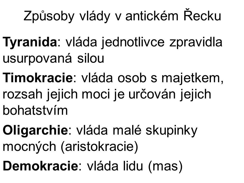 """Athénská cesta k demokracii """"Theseus (8.stol."""