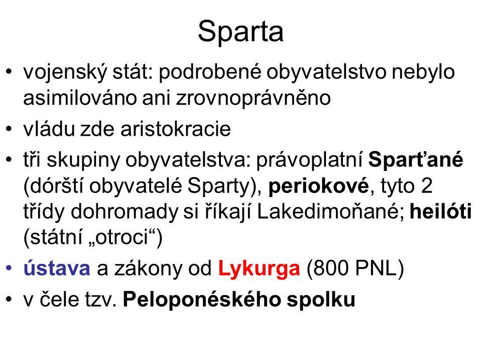 Spartské zřízení Popelka, M.– Válková, V.: Dějepis pro gymnázia a střední školy.