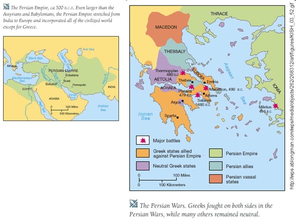 Klasická otrokářská demokracie v Aténách - vrcholné období Athén - v čele stojí Periklés (500-429 PNL) - všichni muži starší dvaceti let tvoří lidový sněm - úředníci, kromě vojenských a finančních, vybíráni losem – dostávají plat - stát vyplácel podpory chudým a bohaté nutil k tomu, aby pro chudé organizovali podpůrné akce - práv byli zbaveni pouze otroci a cizinci