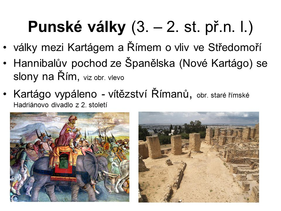 Punské války (3.– 2. st. př.n.