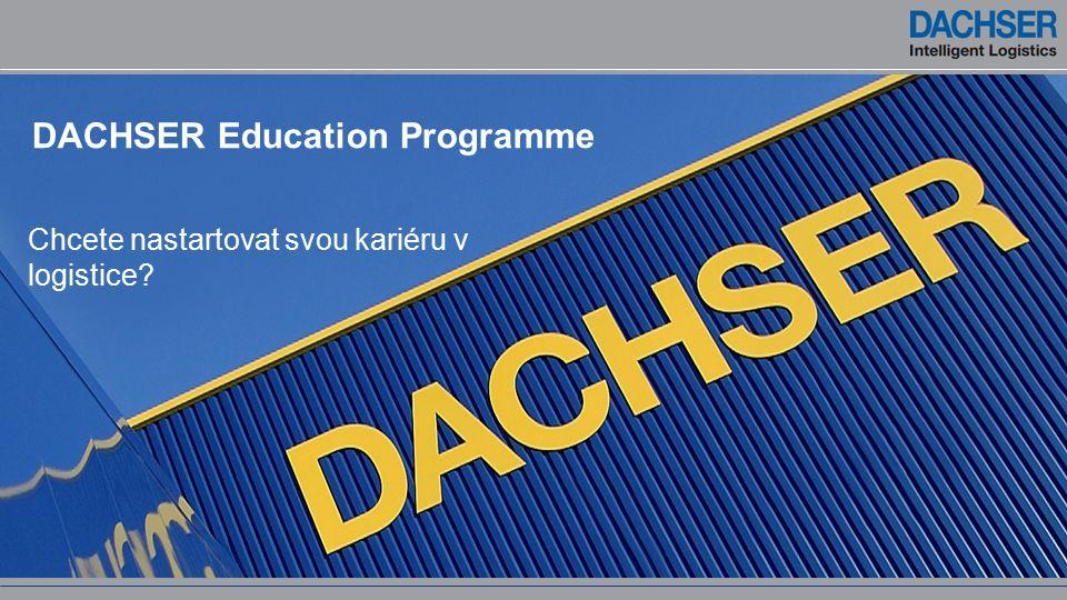 DACHSER Education Programme Chcete nastartovat svou kariéru v logistice