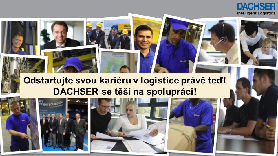 Odstartujte svou kariéru v logistice právě teď! DACHSER se těší na spolupráci!