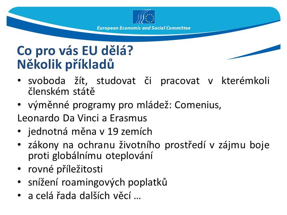 Co pro vás EU dělá.