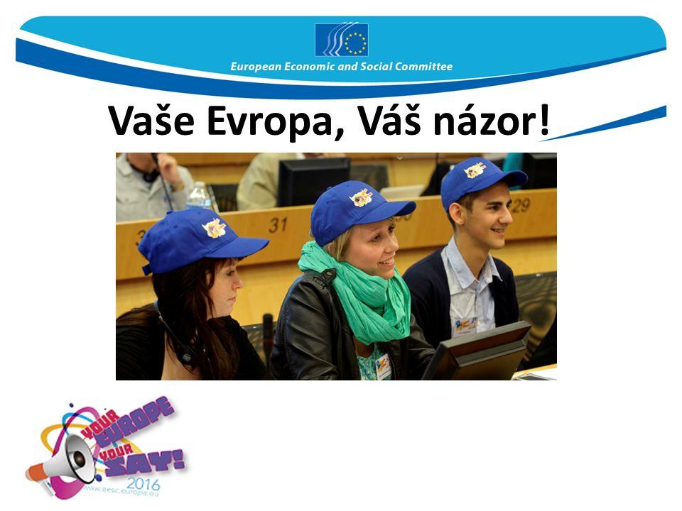 Vaše Evropa, Váš názor!