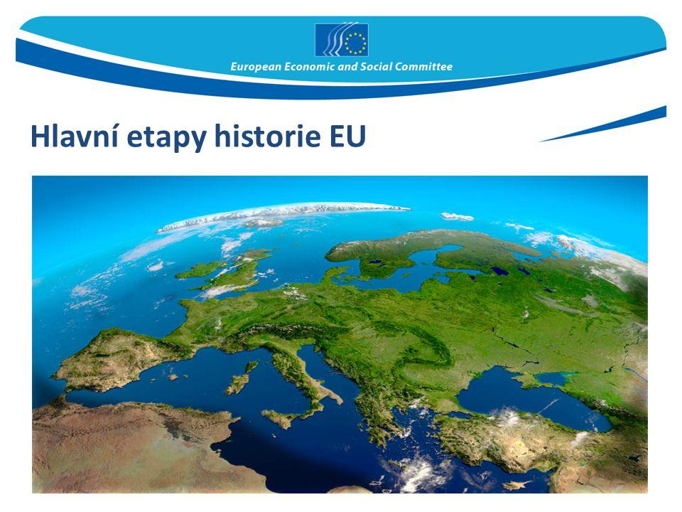Hlavní etapy historie EU
