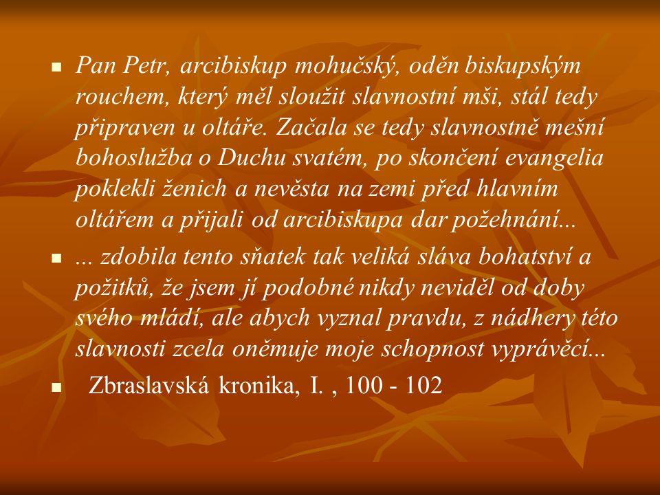 Karlova korunovace na českého krále Píše se rok 1347, den 2.