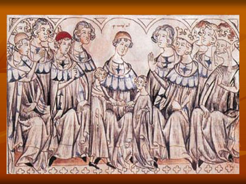 Z Vyšehradu pak v mohutném průvodu odejel pozdravován jásotem Pražanů do chrámu sv.