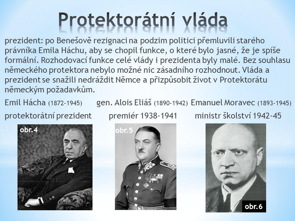 prezident: po Benešově rezignaci na podzim politici přemluvili starého právníka Emila Háchu, aby se chopil funkce, o které bylo jasné, že je spíše for