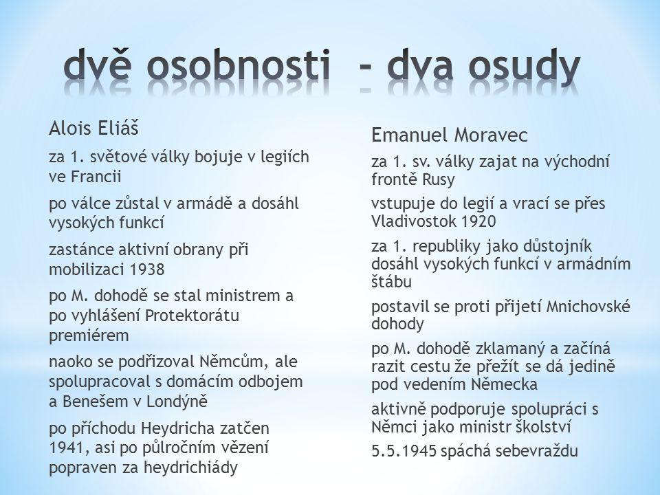 Alois Eliáš za 1.
