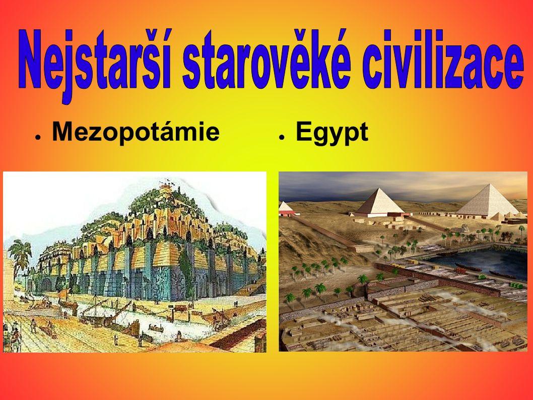 ● Na sklonku 4.tisíciletí př. n. l.