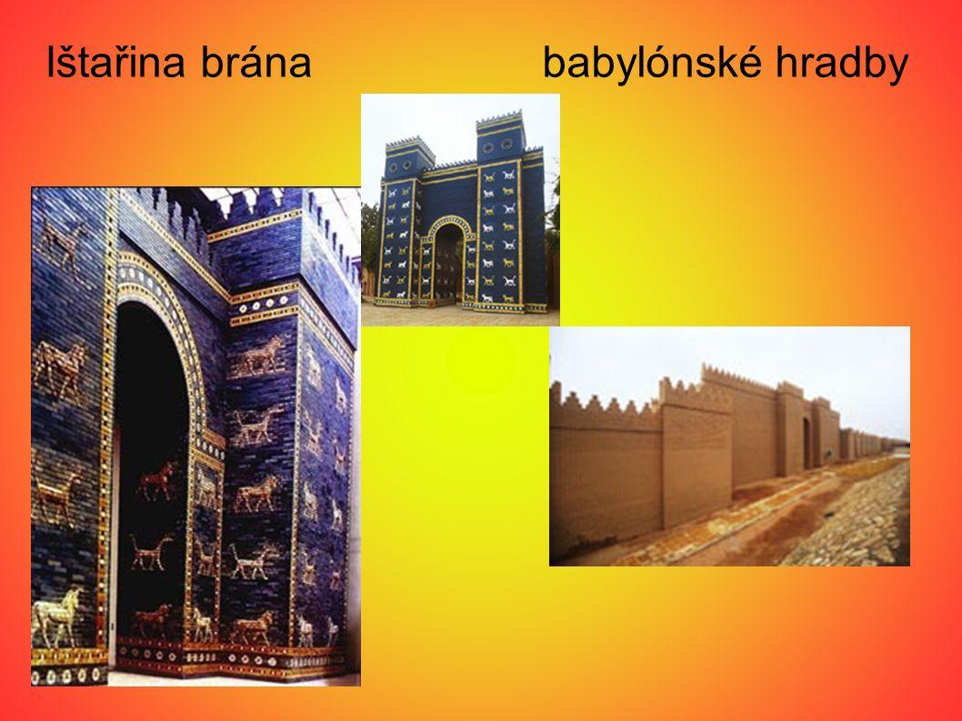 Ištařina brána babylónské hradby