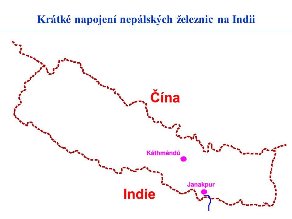 Krátké napojení nepálských železnic na Indii