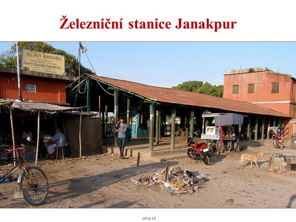 Železniční stanice Janakpur zdroj 15