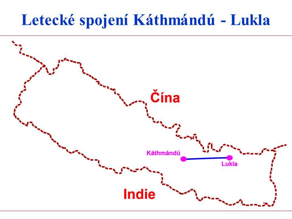 Letecké spojení Káthmándú - Lukla