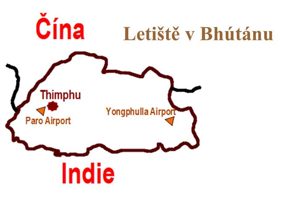 Letiště v Bhútánu