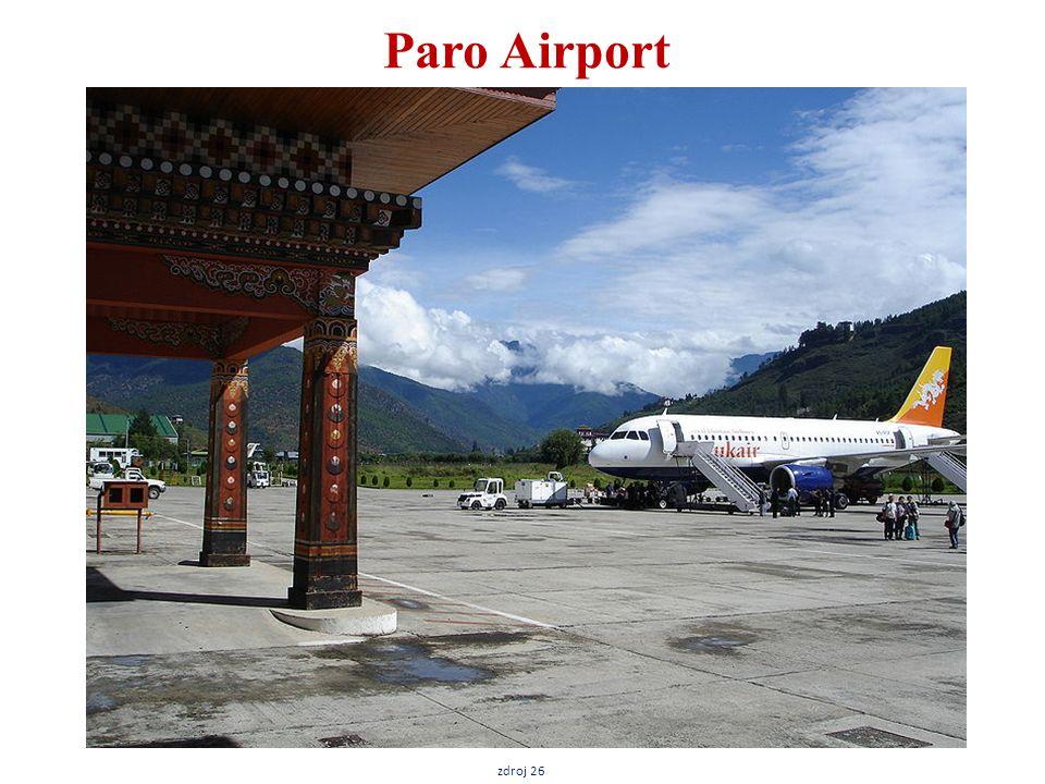 Paro Airport zdroj 26