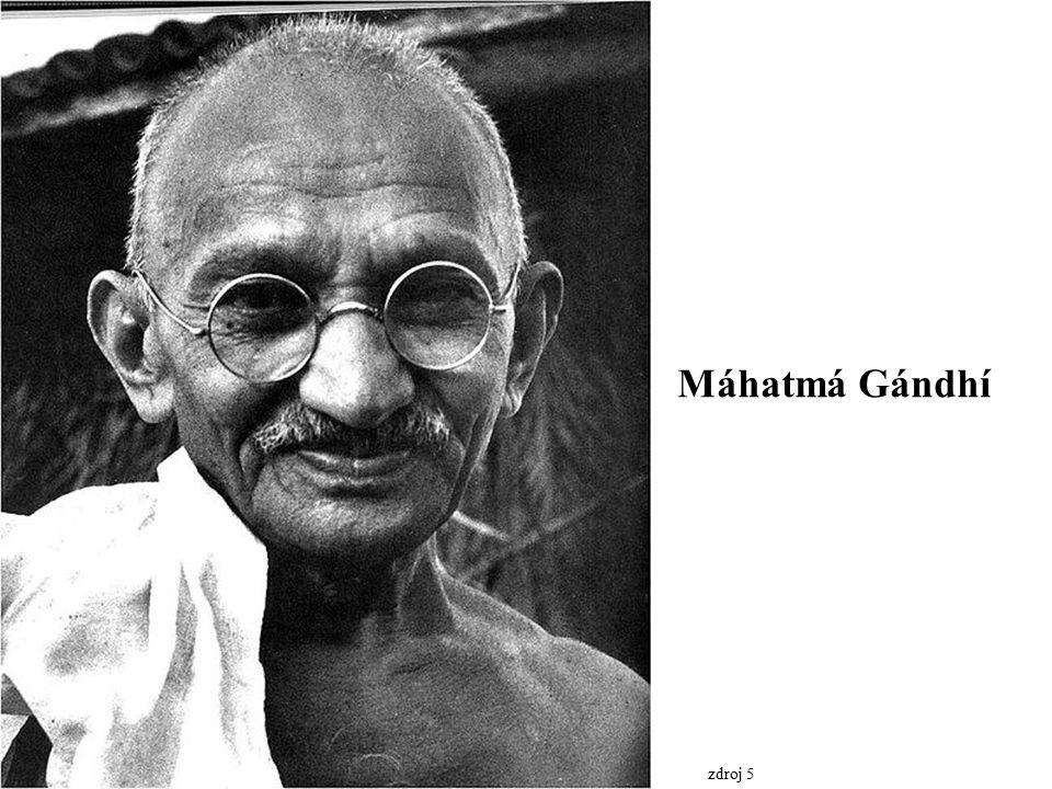 Máhatmá Gándhí zdroj 5