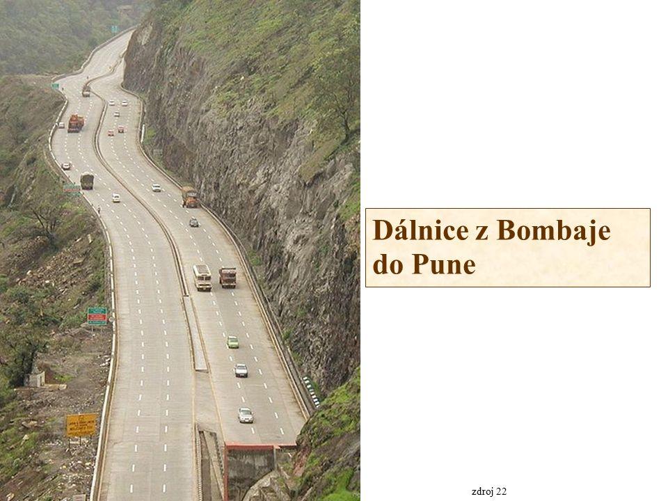 Dálnice z Bombaje do Pune zdroj 22