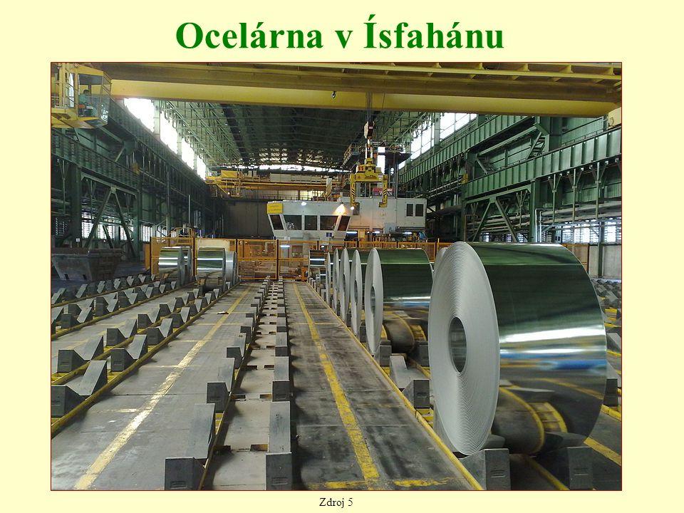 Ocelárna v Ísfahánu Zdroj 5